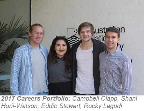 2017 Careers Portfolio team photo