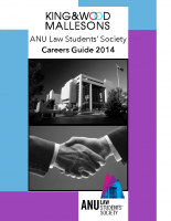ANULSS Careers Guide 2014