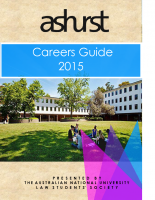 ANULSS Careers Guide 2015