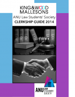 ANULSS Clerkship Guide 2014