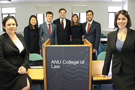 ANU Phillip C. Jessup Team 2016