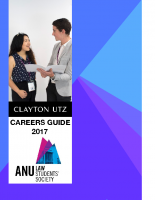ANULSS Careers Guide 2017