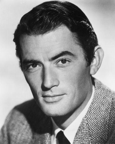 Photo of Gregory Peck.