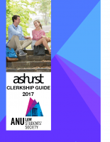 ANULSS Clerkship Guide 2017